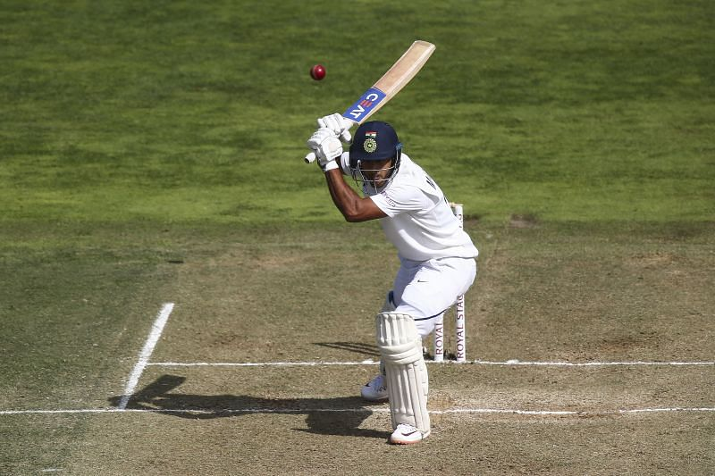Bowlers have been content to bowl outside off stump to Mayank Agarwal