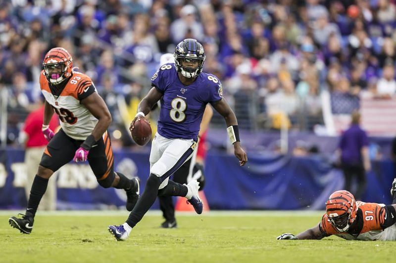 NFL: Cincinnati Bengals vsBaltimore Ravens