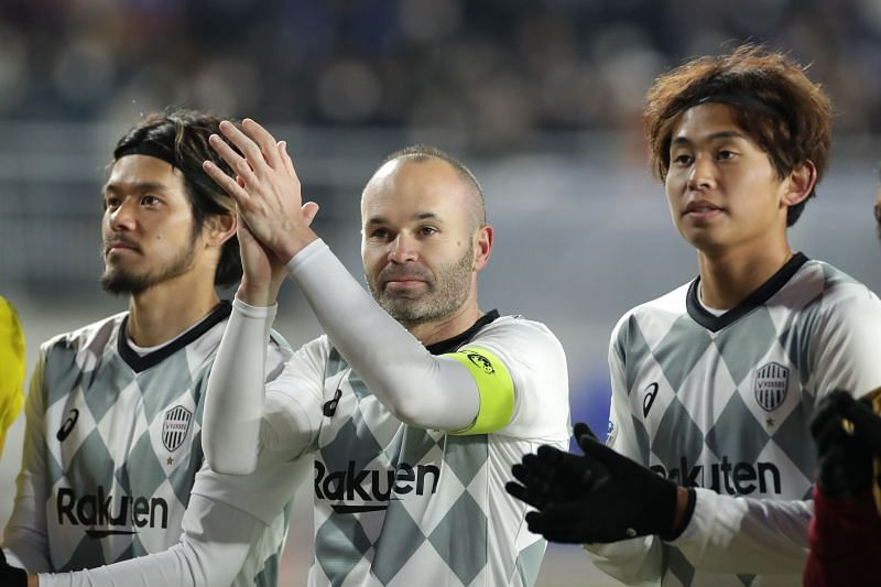 Andres Iniesta led Vissel Kobe face Shanghai SIPG in AFC Champions League Round of 16