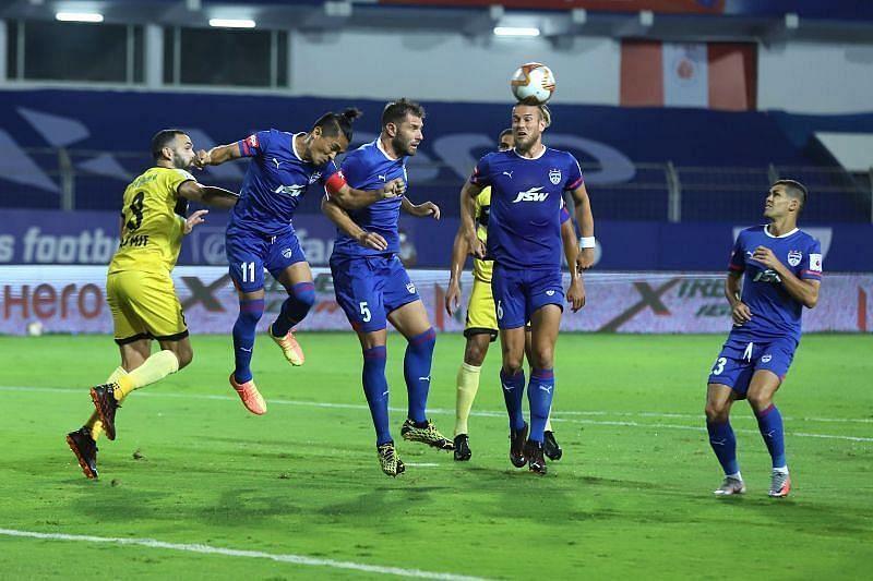 Bengaluru FC in action during this season