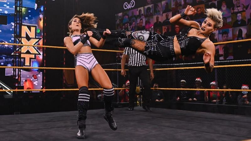 Rhea Ripley and Dakota Kai