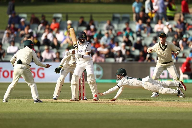 Cheteshwar Pujara was called into action pretty early on Day 1