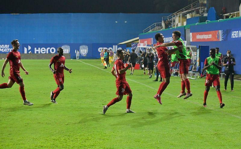 NorthEast United FC have been impressive this season (Image courtesy: ISL)