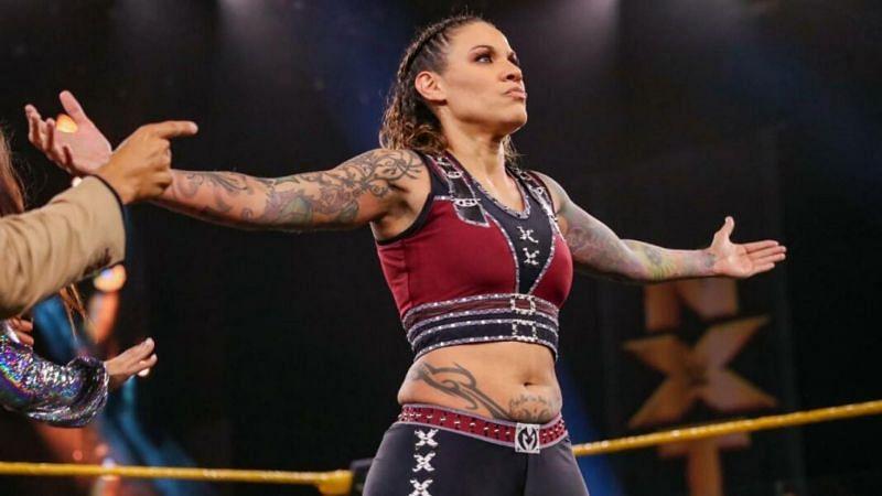 NXT शो के दौरान मर्सिडेज मार्टिनेज