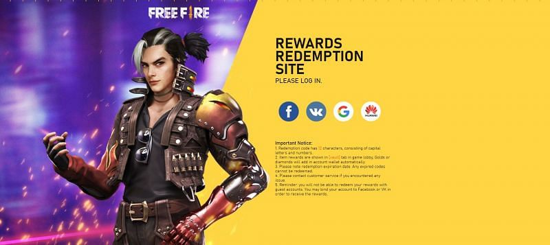 Free Fire redeem codes for 2020: All the redeem code ...
