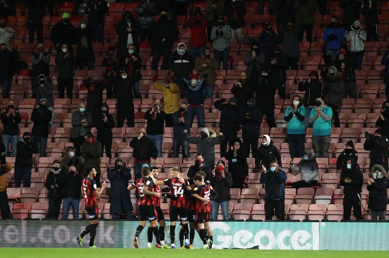 Bournemouth take on Luton Town in the EFL Championship