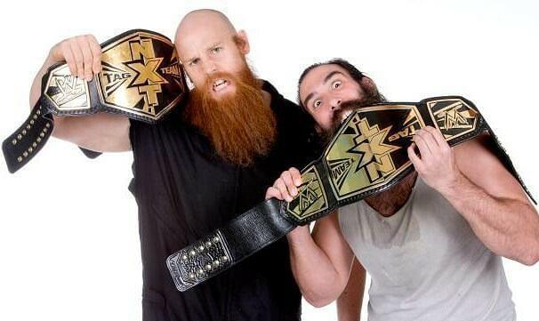NXT टैग टीम चैंपियन के रूप में ल्यूक हार्पर और एरिक रोवन