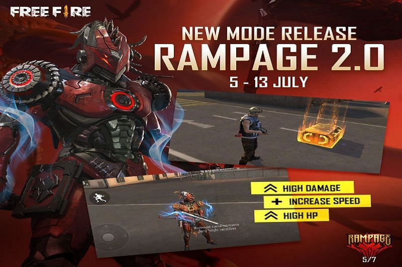 गेम में रैमपेज 2.0 मोड