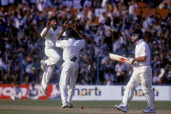 Harbhajan Singh enjoyed great success against Ricky Ponting, especially in Test cricket