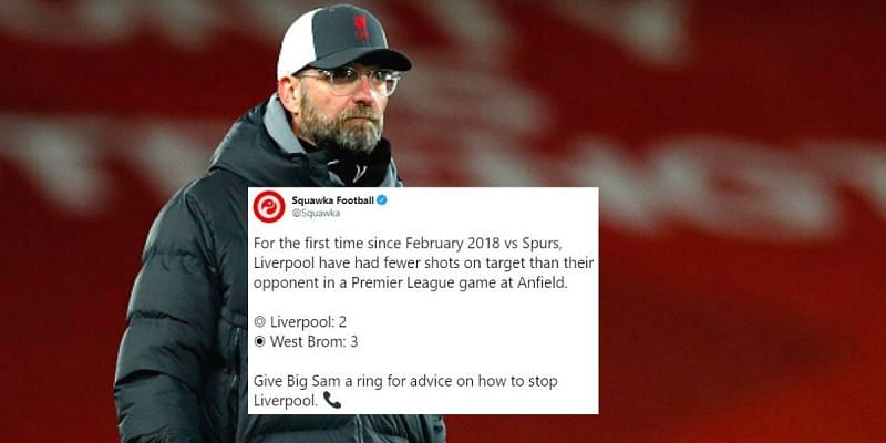 Liverpool were far from their best against West Brom at Anfield