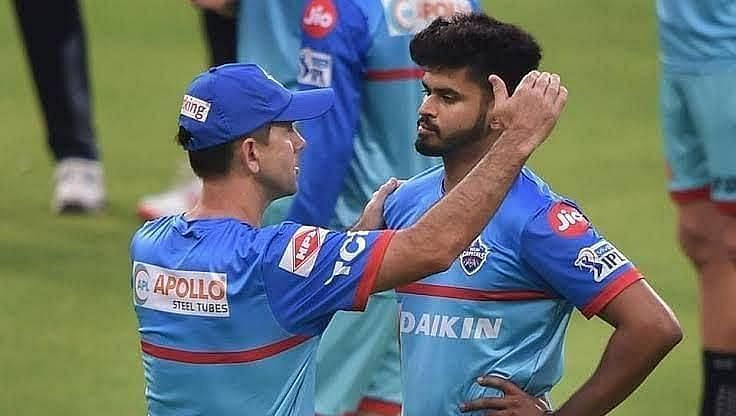 Shreyas Iyer has a great working relationship with Ricky Ponting