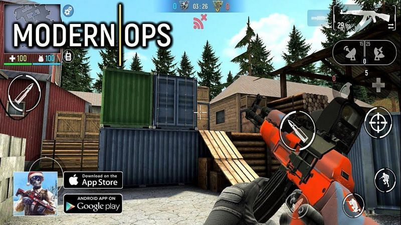 Modern Ops: Online Shooter FPS (Image via AnonymousYT, YouTube)
