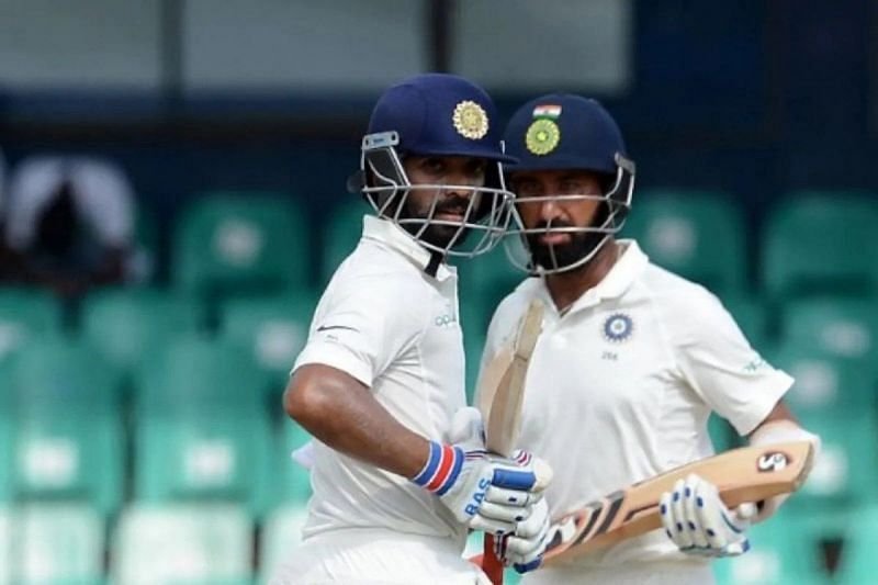 Ajinkya Rahane and Cheteshwar Pujara looked in good form in the first practice game