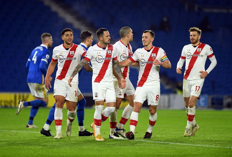 Southampton host Sheffield United in the Premier League in Sunday