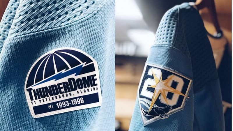 Tampa Bay Lightning honoring The Thunderdome with a patch on their jerseys