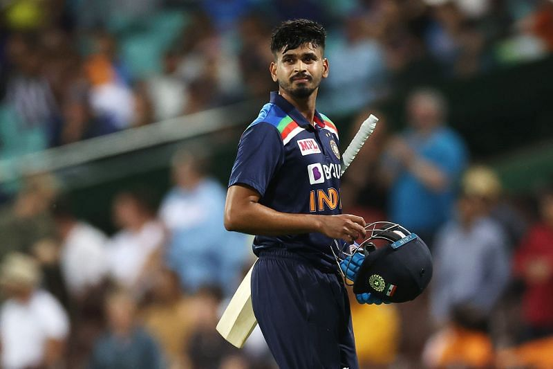 Shreyas Iyer will look to get back into form in the T20 series.