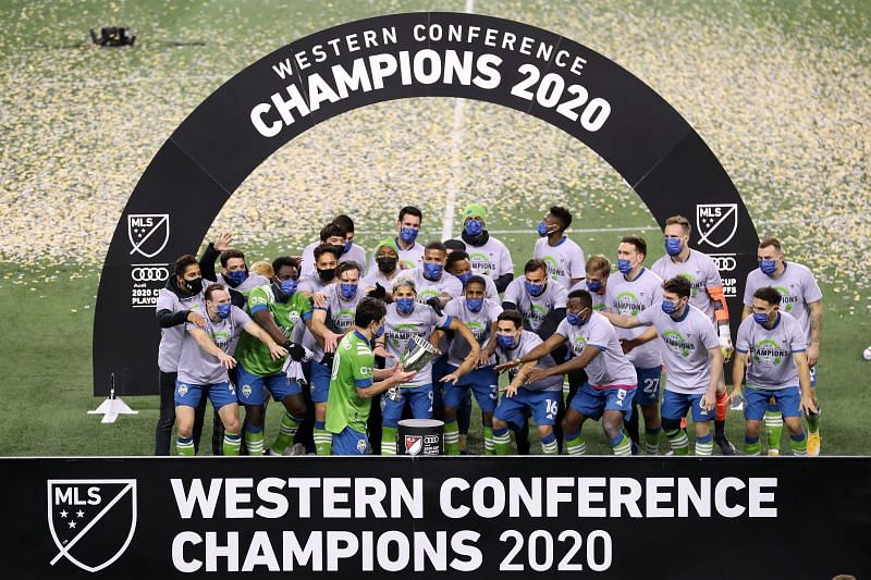 Seattle Sounders won the MLS Western Conference for the fourth time in five years