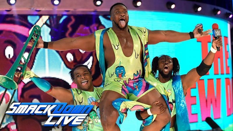 The New Day were overjoyed with Big E