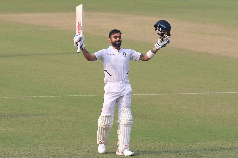 Virat Kohli after smashing a century in India