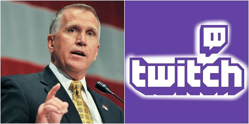 Thom TIllis wants DMCA violations to lead to jail time for Twitch streamers