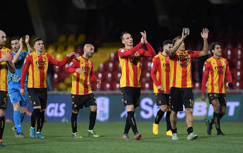 Benevento host Genoa in a Serie A fixture on Sunday