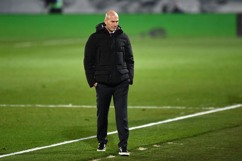 Real Madrid coach Zidane Zidane