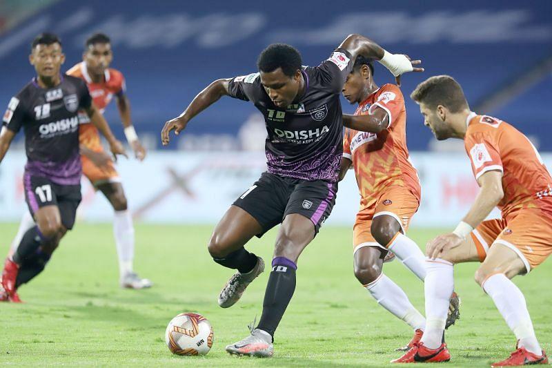 Diego Mauricio needs to start scoring again to win games for Odisha FC. (Image: ISL)