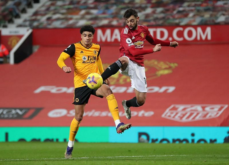 Bruno Fernandes appeared with a vital late assist after an ineffective performance for most of the game.