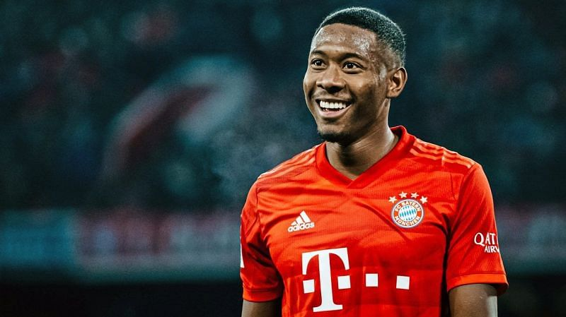 David Alaba could as a free agent in 2021
