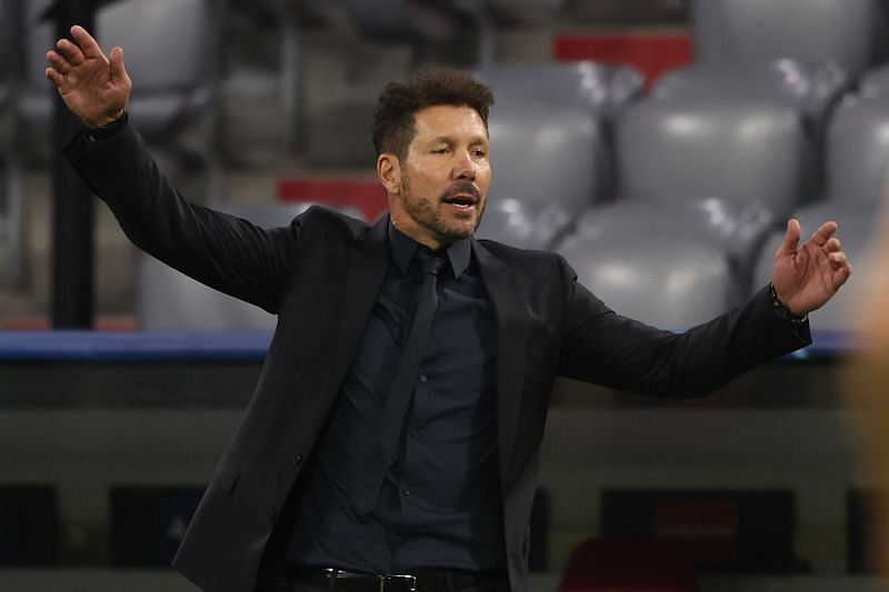 Diego Simeone has his eyes on the Arsenal right-back