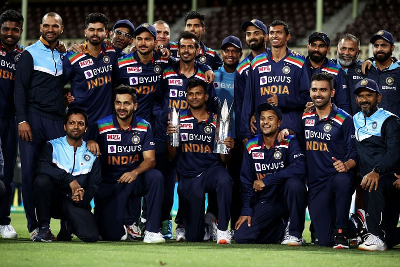 Team India won the T20I series 2-1