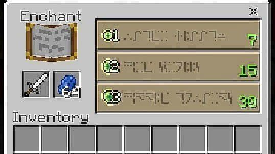 Guide for Minecraft Enchantment