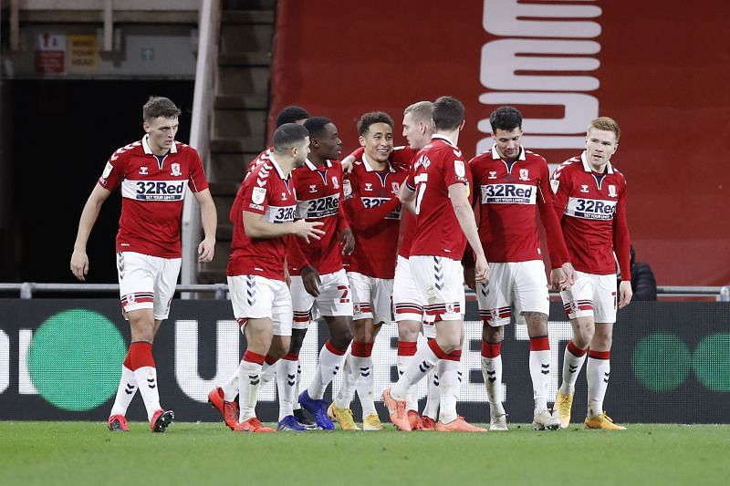 Middlesbrough beat Luton Town 1-0 in their last match in the Championship
