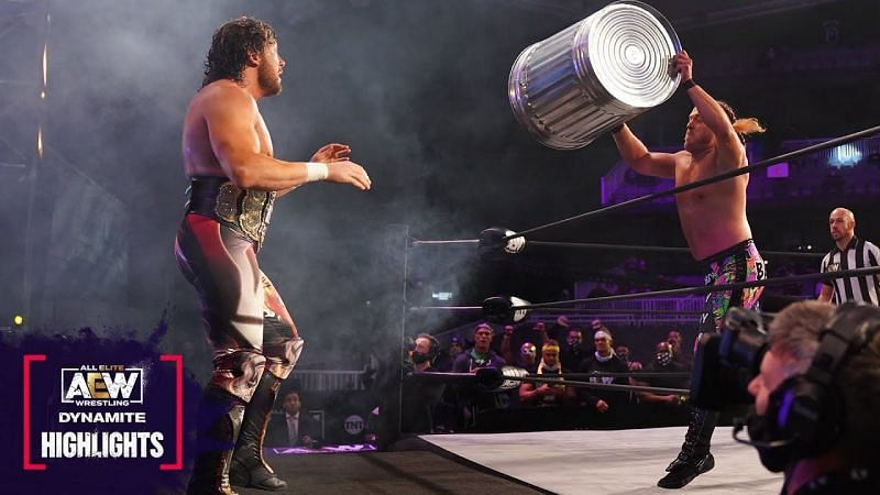 Kenny Omega and Joey Janela on AEW Dynamite