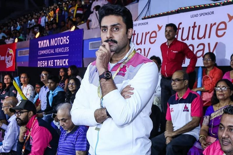 Abhishek Bachchan is the owner of Jaipur Pink Panthers.