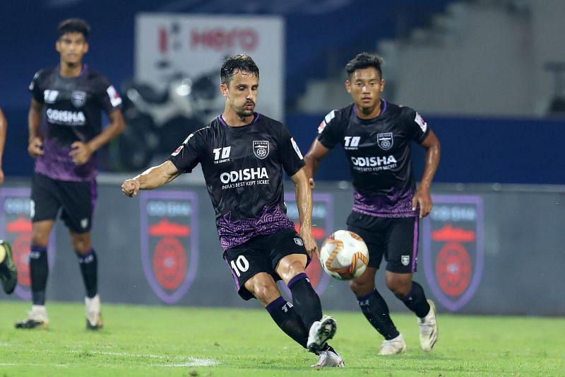 Marcelinho from Odisha FC (Image Credits: ISL Media)