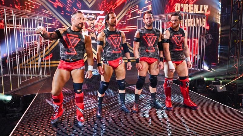 Undisputed Era took on Pat McAfee and his crew at NXT TakeOver: WarGames
