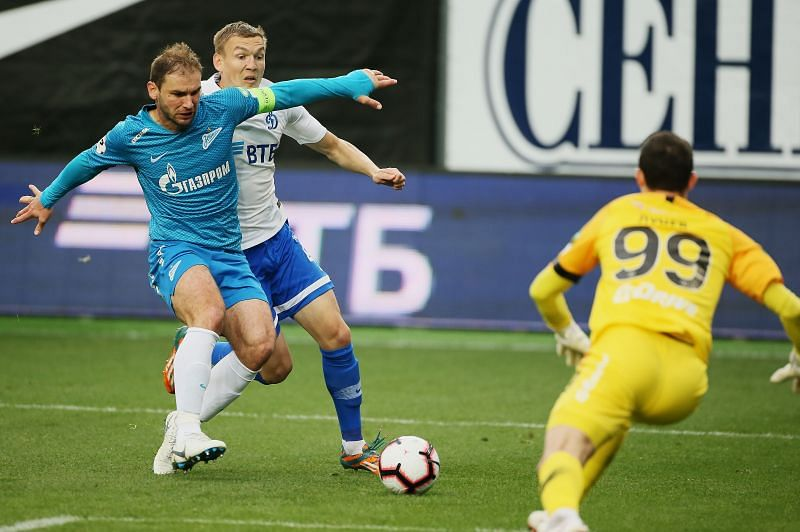 Dynamo Moscow take on Zenit Saint Petersburg this week