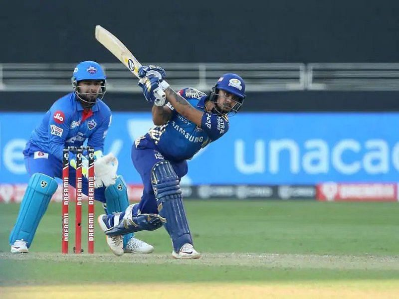 Ishan Kishan is the highest scorer for the Mumbai Indians in IPL 2020, notching up a staggering 516 runs