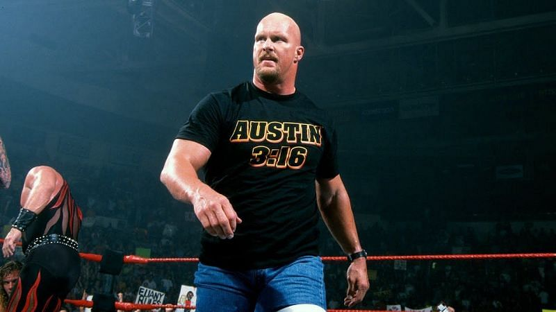 Steve Austin is one of WWE