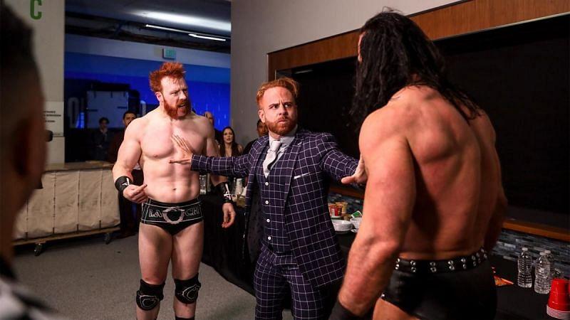 इस हफ्ते WWE Raw में बैकस्टेज ड्रू मैकइंटायर और शेमस के बीच फाइट देखने को मिली थी