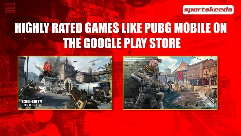 Highly rated games like PUBG Mobile
