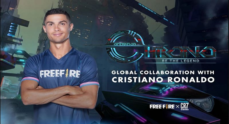 The developers of Garena Free Fire recently announced a massive collaboration with Juventus ace Cristiano Ronaldo (Image via Google Play Store)