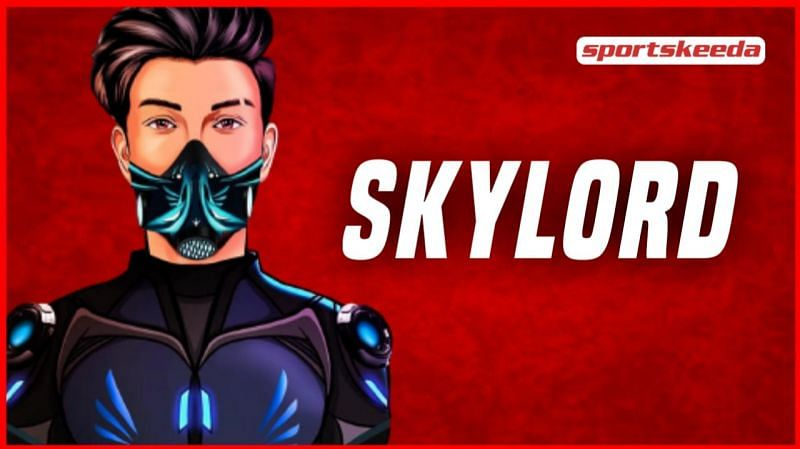 Skylord is a popular Free Fire esports athlete and content creator