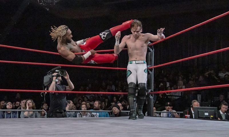 Chris Bey in IMPACT Wrestling