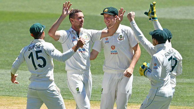 The India batsmen had no answer to the Australian bowling attack