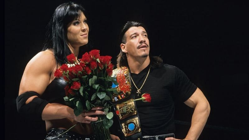 Chyna worked with Eddie Guerrero in 2000