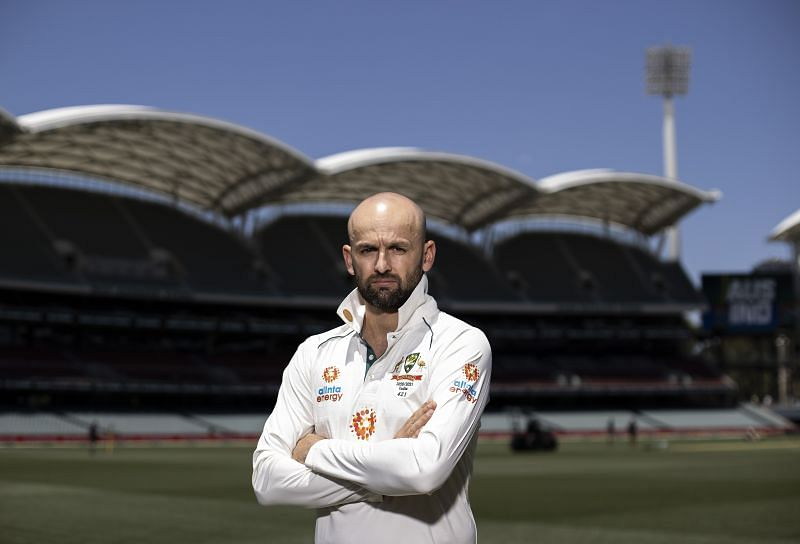 Nathan Lyon dismissed Cheteshwar Pujara on the first day of the Adelaide Test.