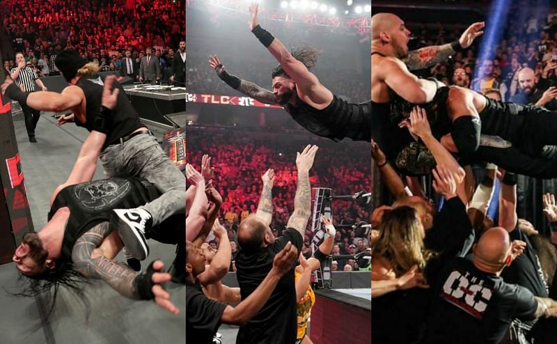 रोमन रेंस vs किंग कॉर्बिन, WWE TLC 2019