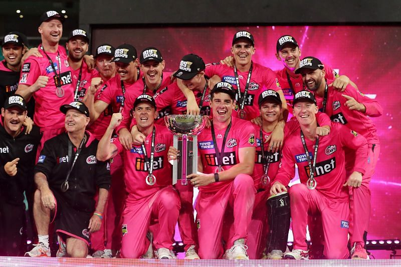 Sydney Sixers have won BBL titles in 2011 and 2019